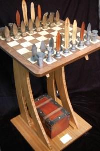 Surfer Chess Set by Dave Reynolds Artist