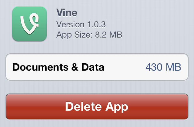 Vine Usage