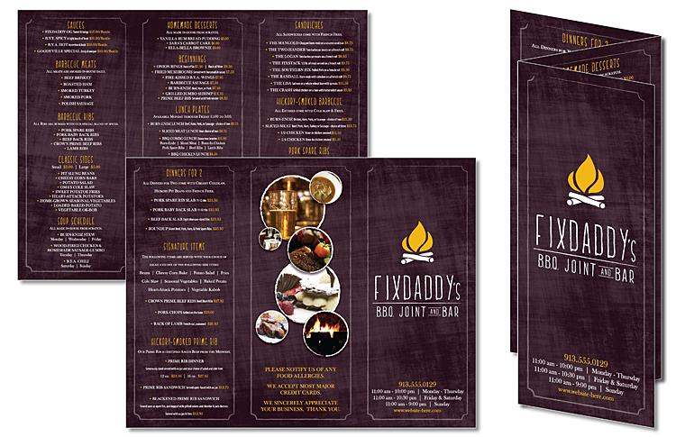 Tri-Fold Flyer Brochure - 85x11 - 80# Matte