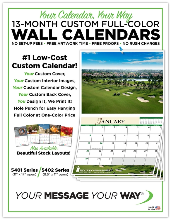 FREE Marketing Flyer - Wall Calendars - 9MKT102 TradeNet