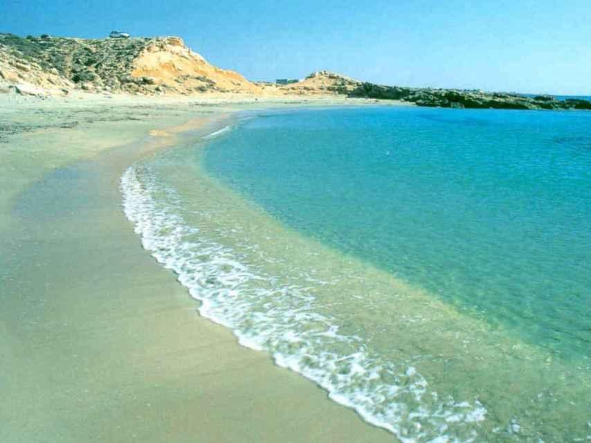 Playa Flamenca, en la localidad de Orihuela.