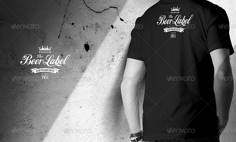 Mens T-shirt Mock-up by sreda GraphicRiver