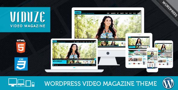 Viduze - Video WordPress Theme by CrunchPress ThemeForest