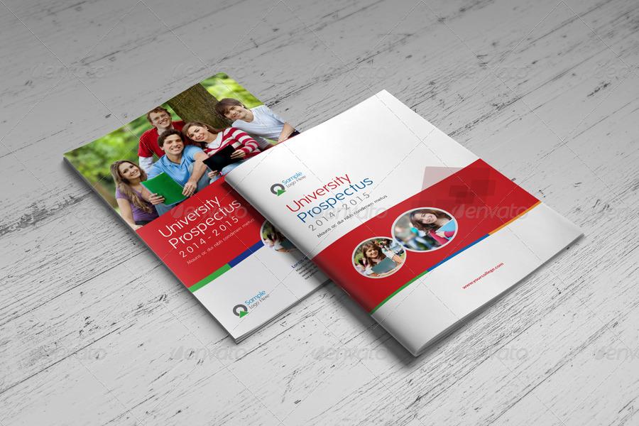 University Brochure Template University Study Brochure Template