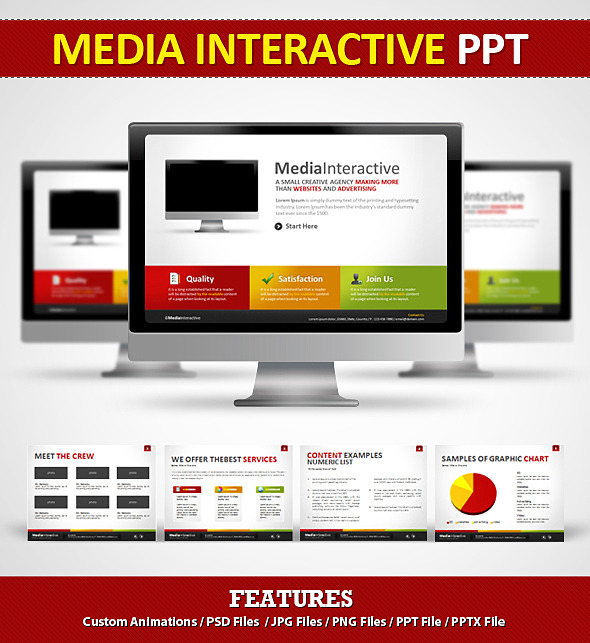 Media Interactive PPT - Power Point by EAMejia GraphicRiver - interactive powerpoint template