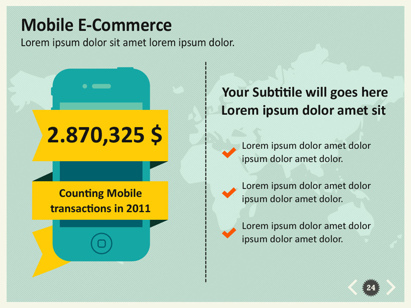 E-Commerce Infographic Powerpoint Template by kh2838 GraphicRiver