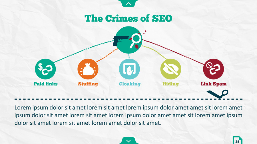 Infographic SEO Keynote Template by kh2838 GraphicRiver - new product introduction letter template