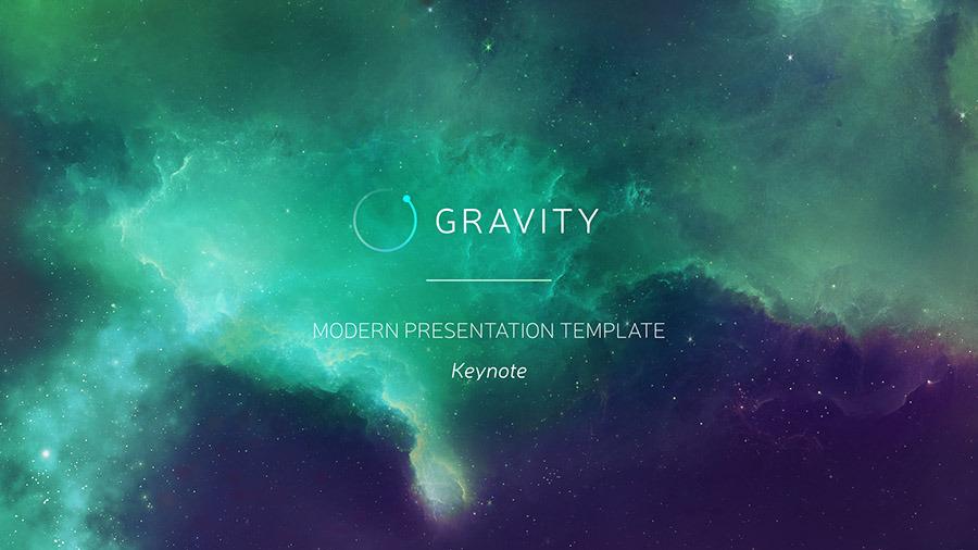 Gravity PowerPoint - Modern Presentation Template by ercn1903