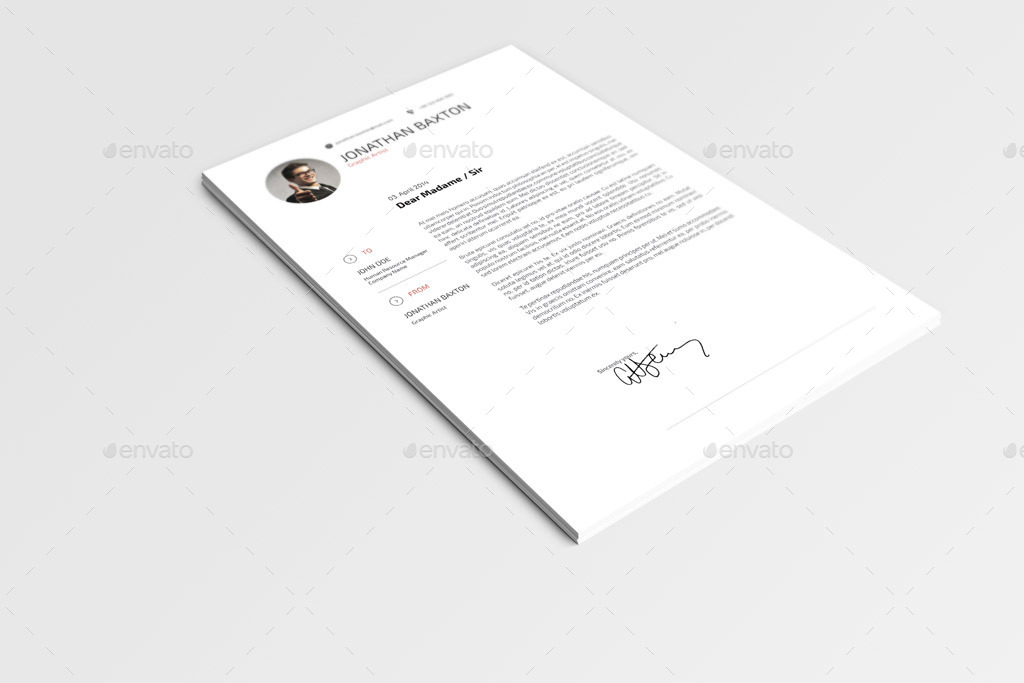 Resume CV by sabin_vp GraphicRiver - what is a resume cv