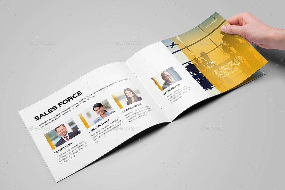 Landscape Brochure / Catalog Mock-Up by GrafAS GraphicRiver