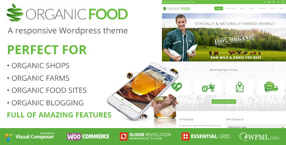 Organic Food Ecology  Environmental, Store  Bakery WooCommerce
