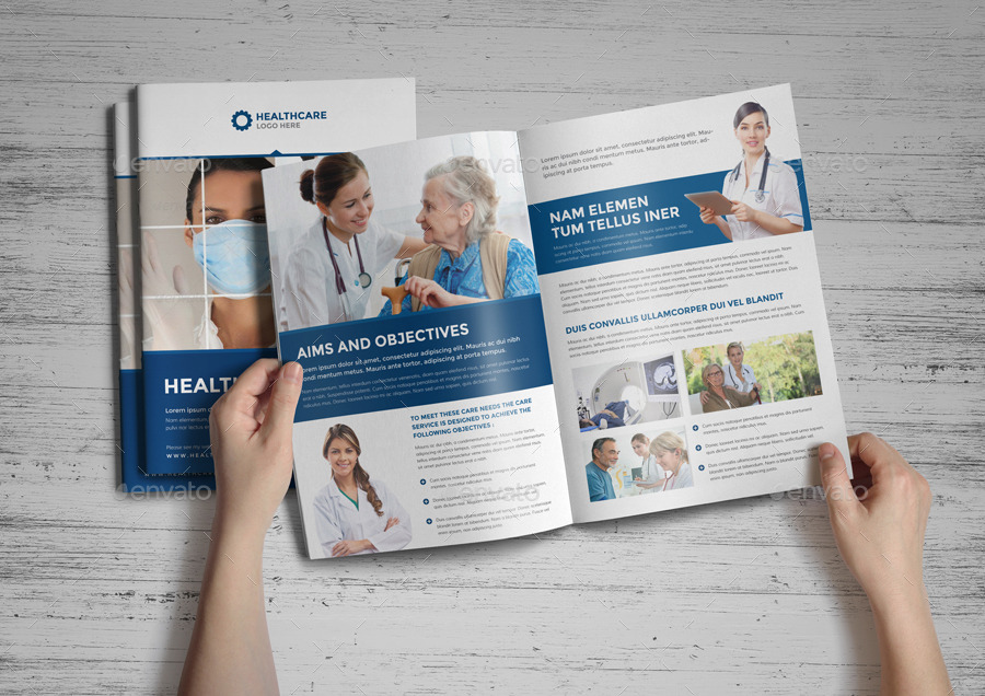 Medical Health Care Brochure by Jbn-Comilla GraphicRiver - healthcare brochure