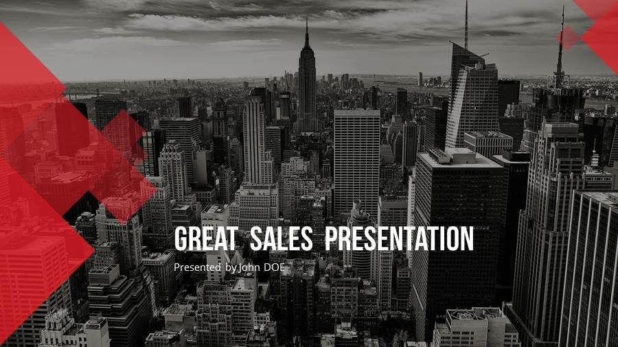Sales PowerPoint Presentation Template by SanaNik GraphicRiver - sales presentation template