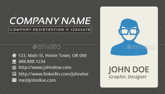 3-in-1 Deal Resume Template + Icons + Business Card, Independence S - business card resume