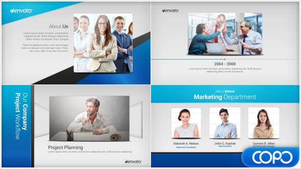 Simple Company Profile by ariefputra VideoHive - company profile
