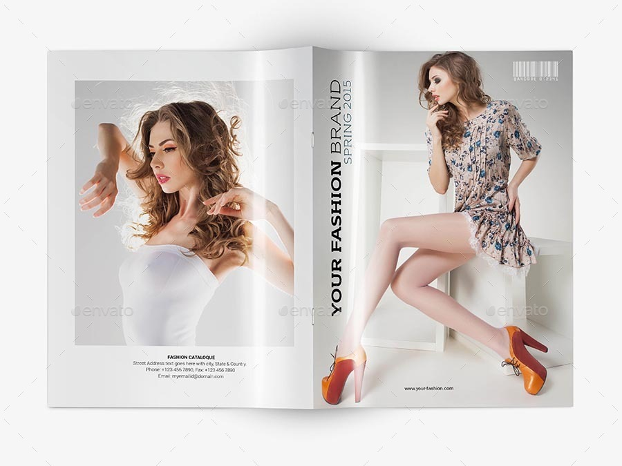 catalogue cover template