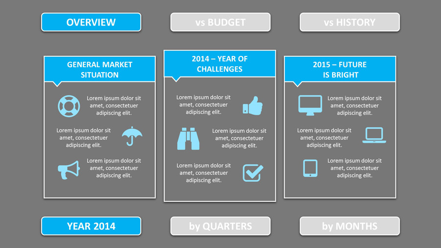 SMART-003 \u2013 Annual Review PowerPoint Template by SMART_Point