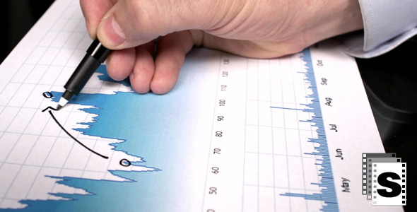 Stock Market Growth Analysis by stockfactory VideoHive