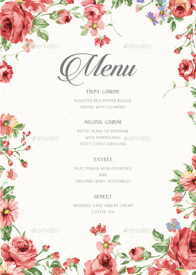 Wedding Invitation Card Video Maker Rustic Floral Wedding Invitations By Bnimit | Graphicriver