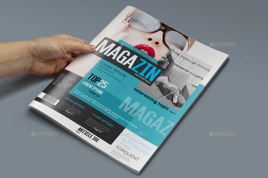 Magazine Template - Photoshop PSD by pmvch GraphicRiver