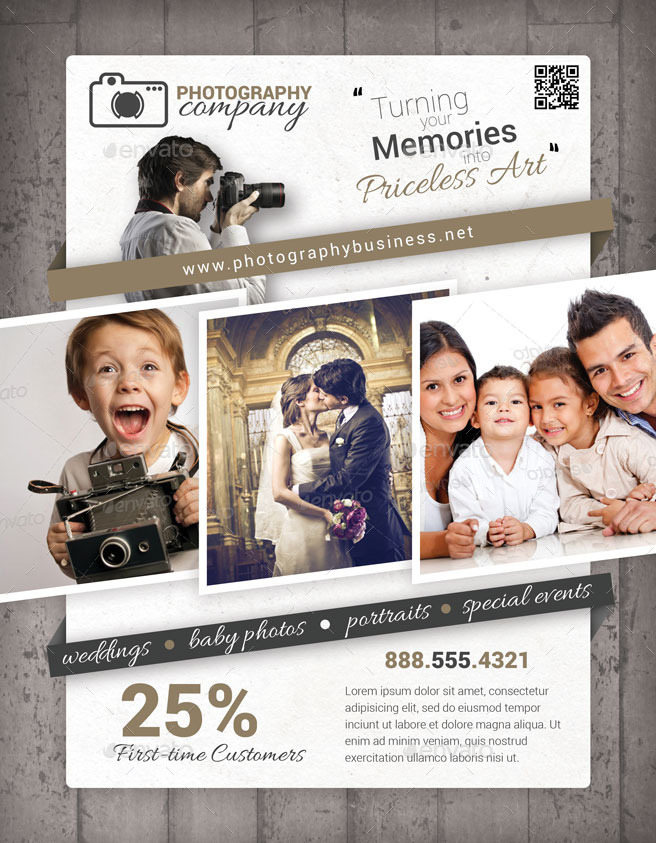 photography business flyer - Josemulinohouse - flyers for a business