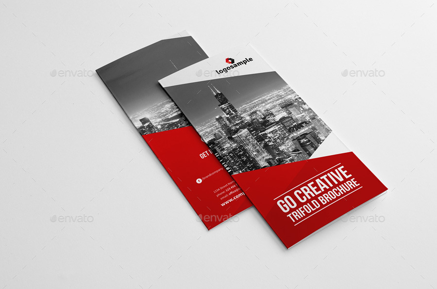Go Creative Trifold Brochure by Snowboy GraphicRiver - tri fold brochure