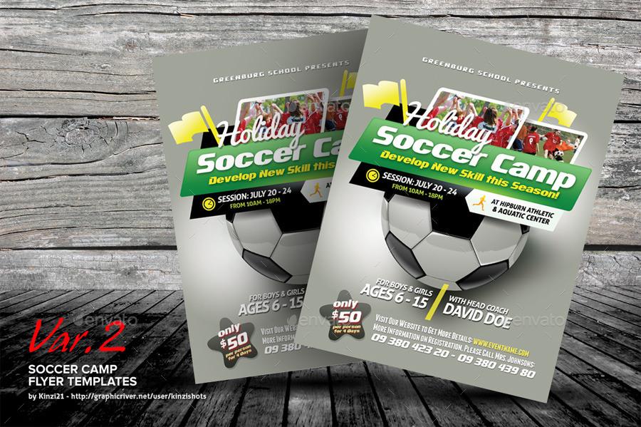 soccer camp flyers - Pinephandshakeapp