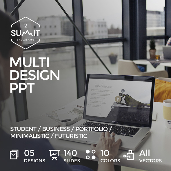 Summit 2 - Multi Design PowerPoint Template by GoaShape GraphicRiver