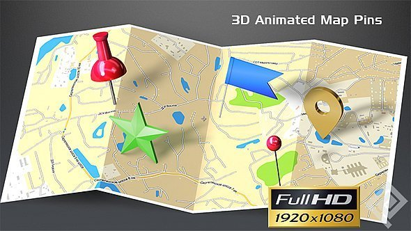 3D Map Generator Video Effects  Stock Videos from VideoHive