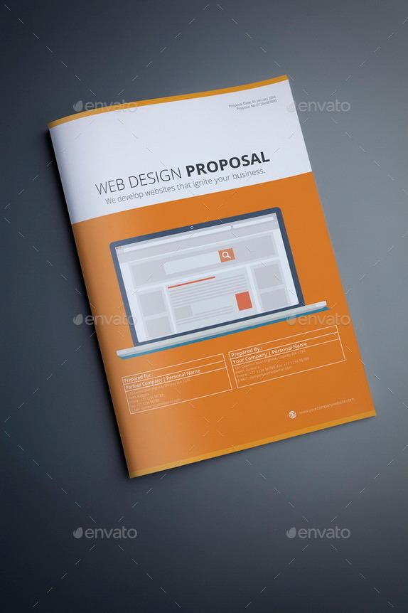 webdesign proposal template