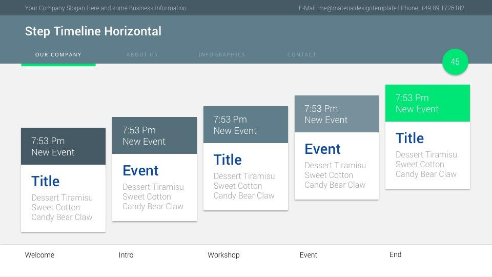 Material PowerPoint Presentation Template by ercn1903 GraphicRiver