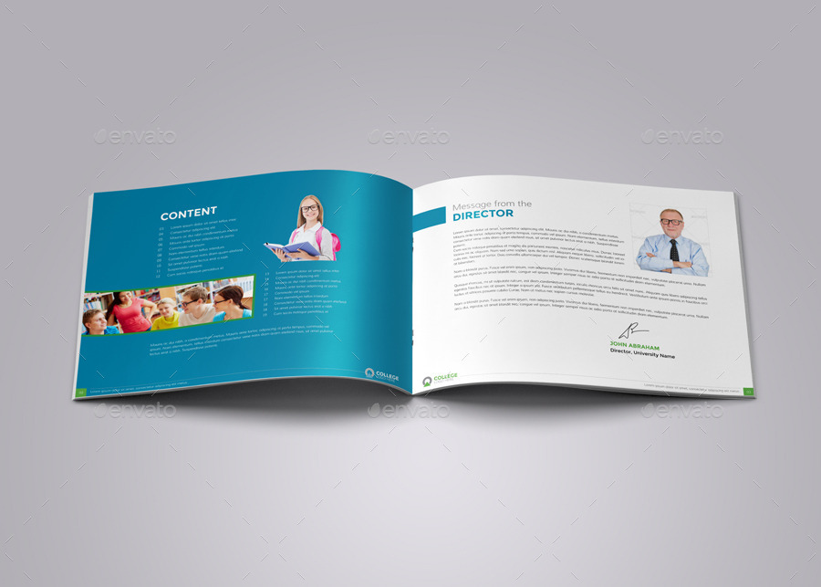 college prospectus design template - Selol-ink