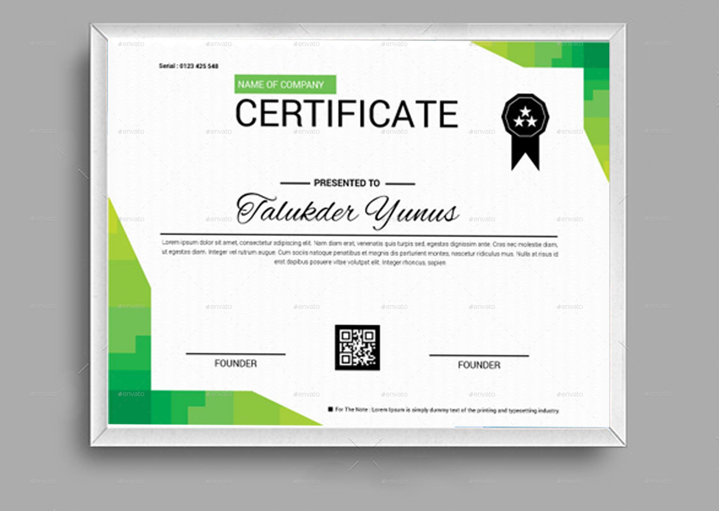 professional certificate maker