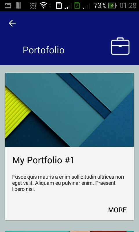 My Profile ( Personal Resume App ) by dream_space CodeCanyon