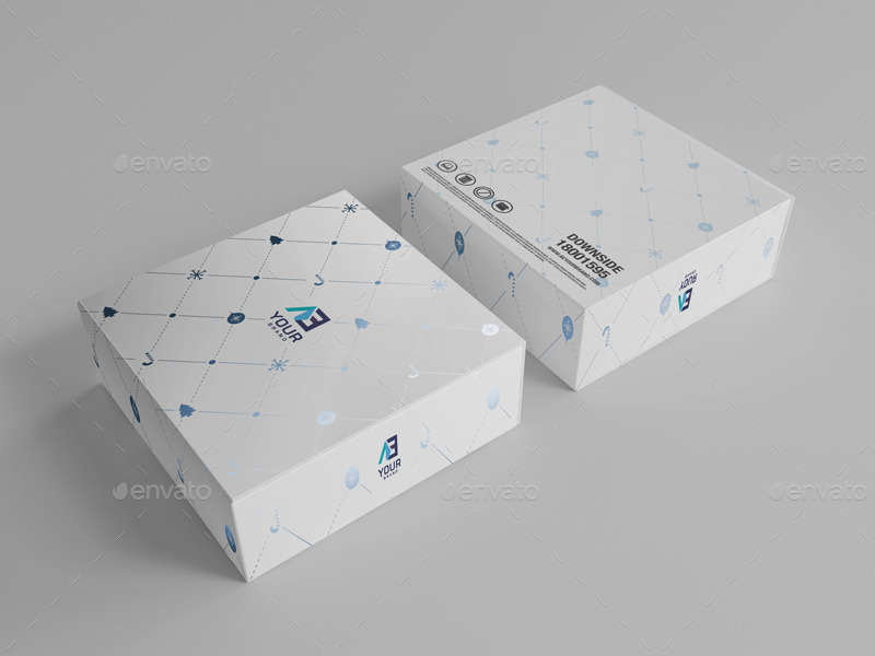 Package Box Mockups Vol6 By Wutip Graphicriver