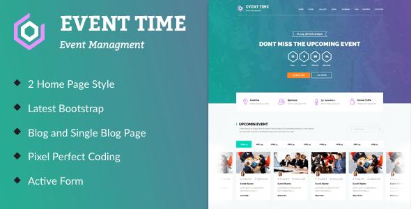 event management companies website templates free downloads