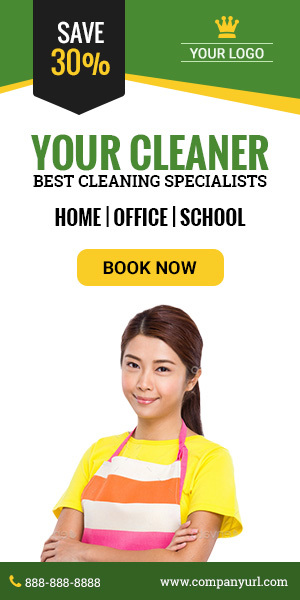 GWD Cleaning Service Ad - 001 by themesloud CodeCanyon