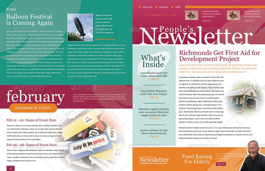 Example Of Newsletter Templates - Unitedijawstates
