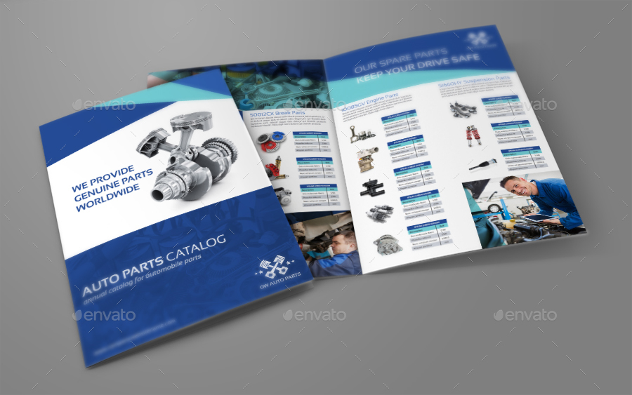 autopart product flyers - Antaexpocoaching - product brochure template