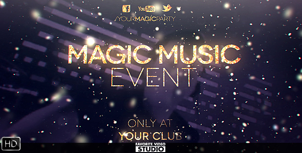 Magic Music Event by FVS VideoHive