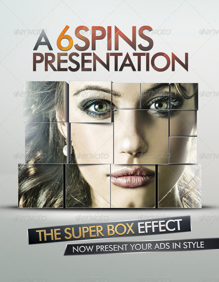 Ad And Party Flyer Template With Super Box Effect by 6spins - advertising flyer template