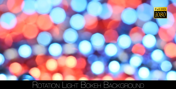 Rotation Light Bokeh Background 2 by FootageStock VideoHive