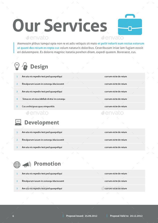 Web Design Proposal by MrTemplater GraphicRiver - design proposal