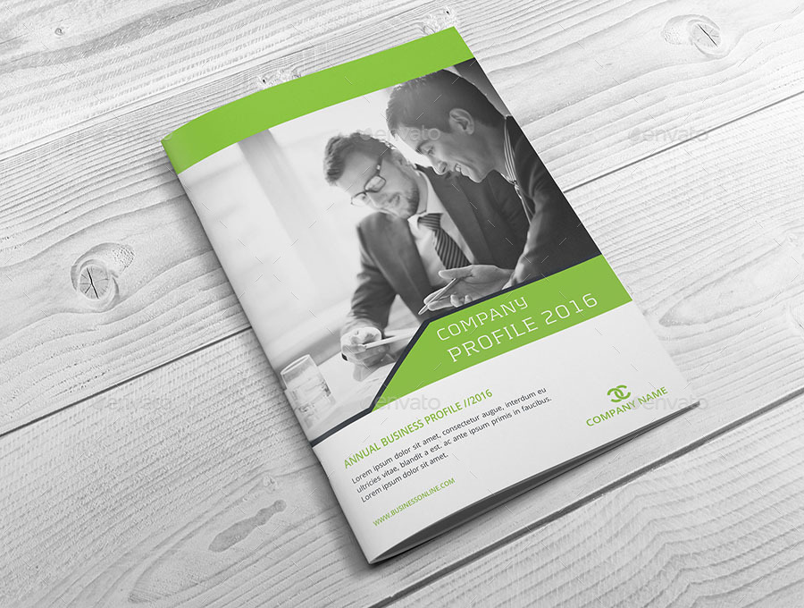 Business Profile Brochure Template by obayes GraphicRiver