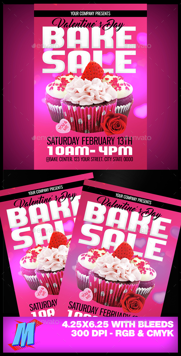 Bake Sale Graphics, Designs  Templates from GraphicRiver