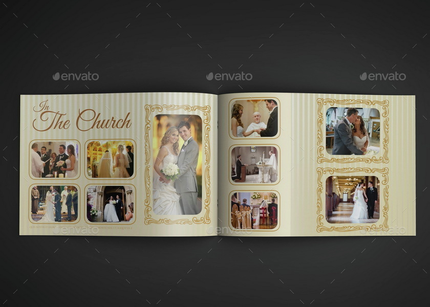 Wedding Album Template - 16 Pages by OWPictures GraphicRiver