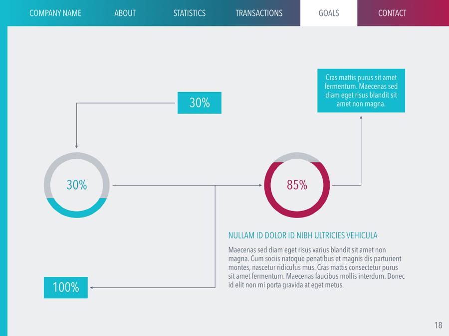 Aurora Google Slides Template by Jumsoft GraphicRiver - google powerpoint template