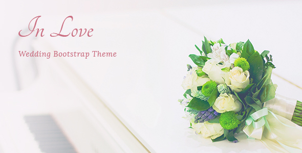 InLove - Responsive HTML Wedding Template by _nK ThemeForest - wedding template