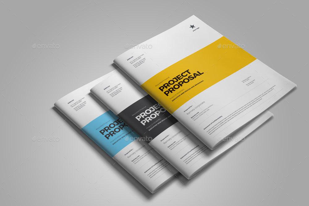 Web Design Proposal by egotube GraphicRiver - design proposal