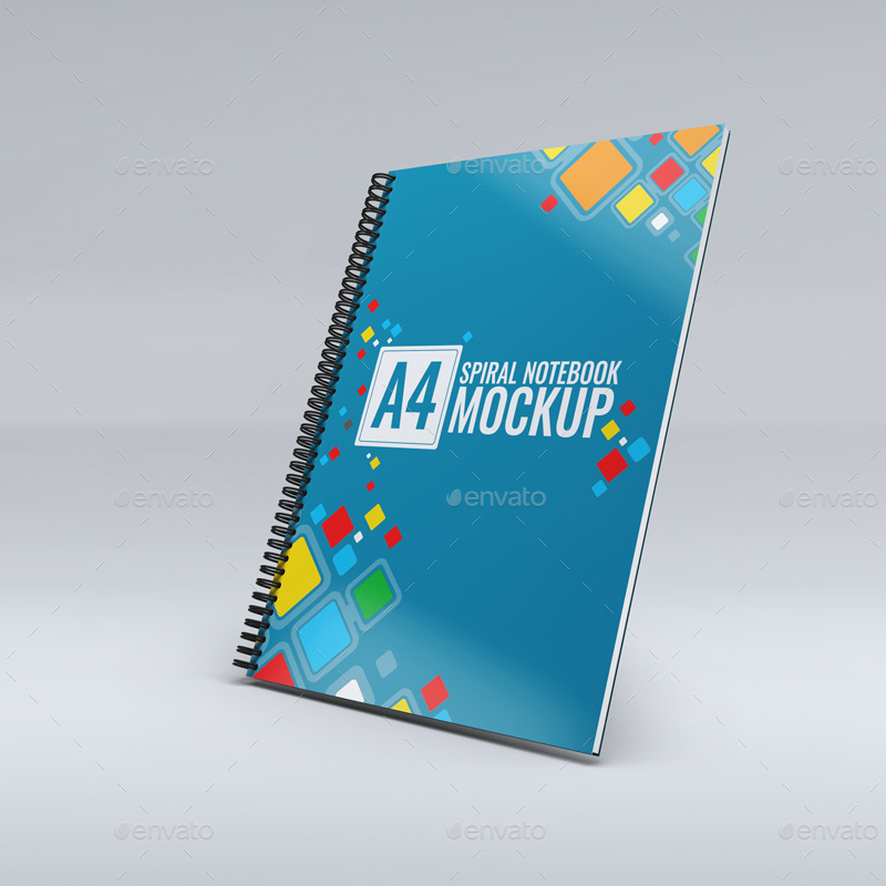 notebook mock up free